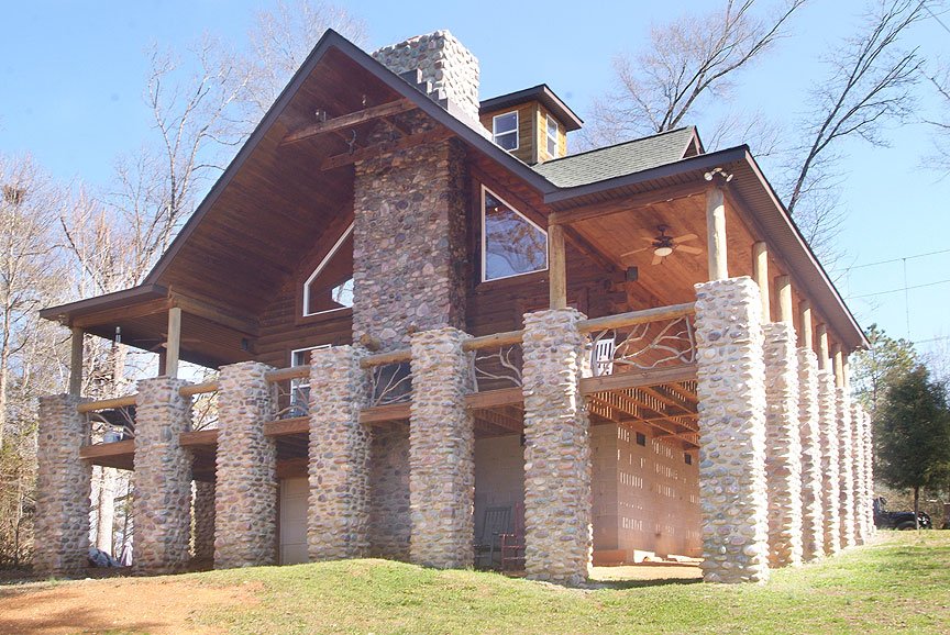 Log Cabin Rental Charlotte North Carolina