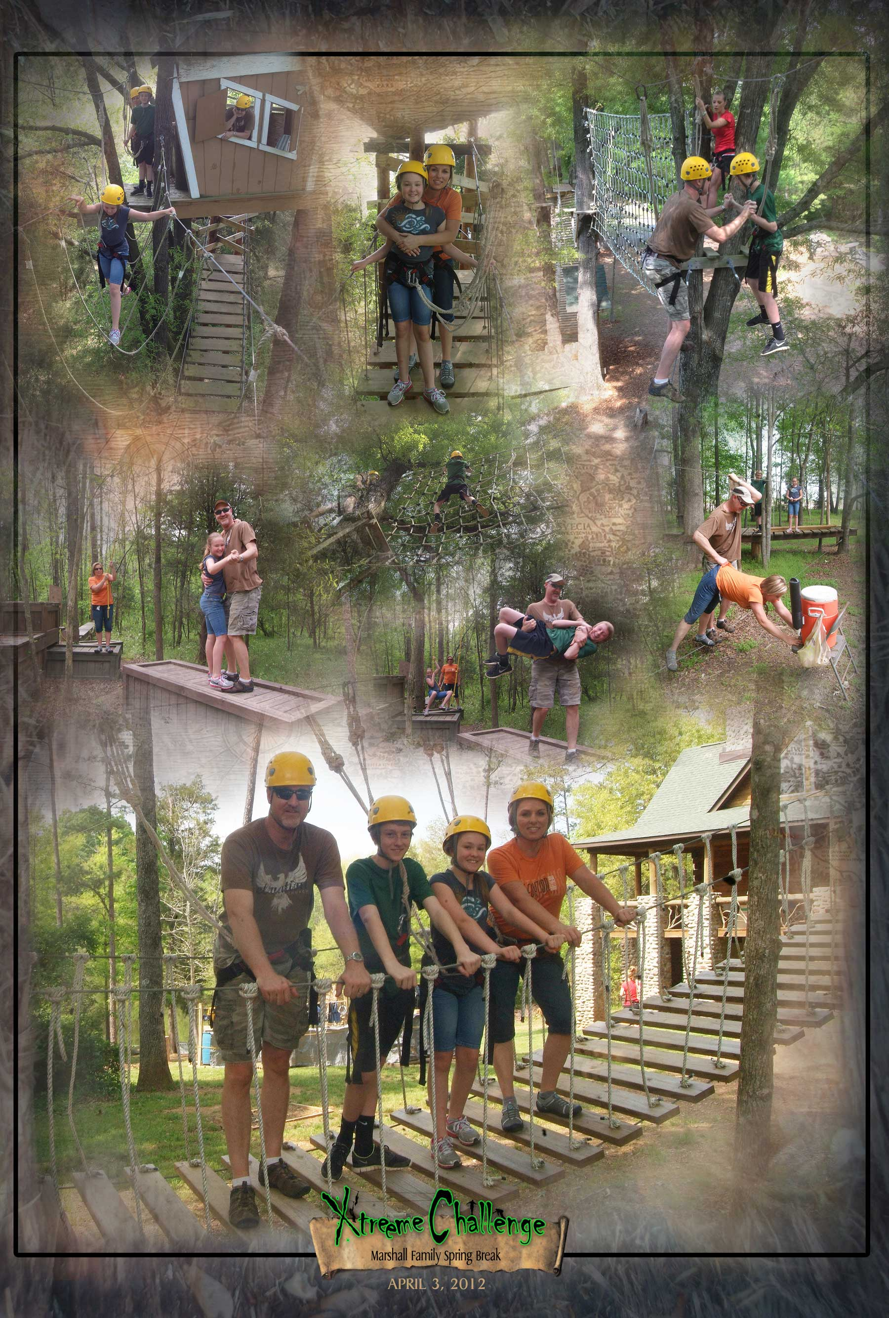 Action Adventure Posters from Xtreeme Challenge in Charlotte North Carolina