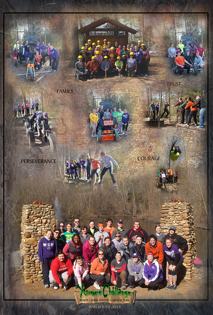 WCU Leadership March 8-10 at Xtreeme Challenge