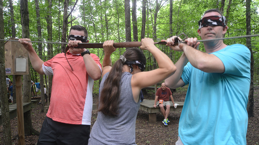 Hickory Tavern team building event at Xtreeme Challenge in Monroe North Carolina