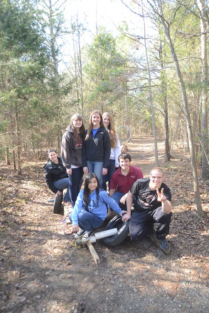 HOSA Team Building Program at Xtreeme Challenge in Charlotte North Carolina