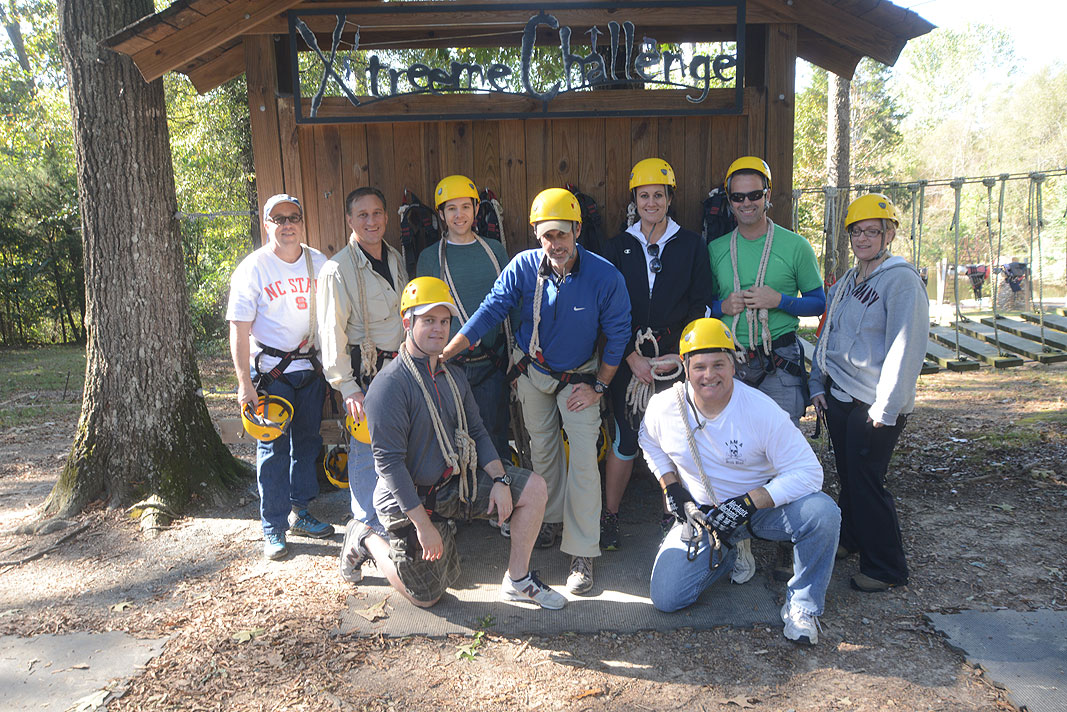 Liberty Hardware at Xtreeme Challenge Outdoor Adventure Team Building Center in Charlotte North Carolina