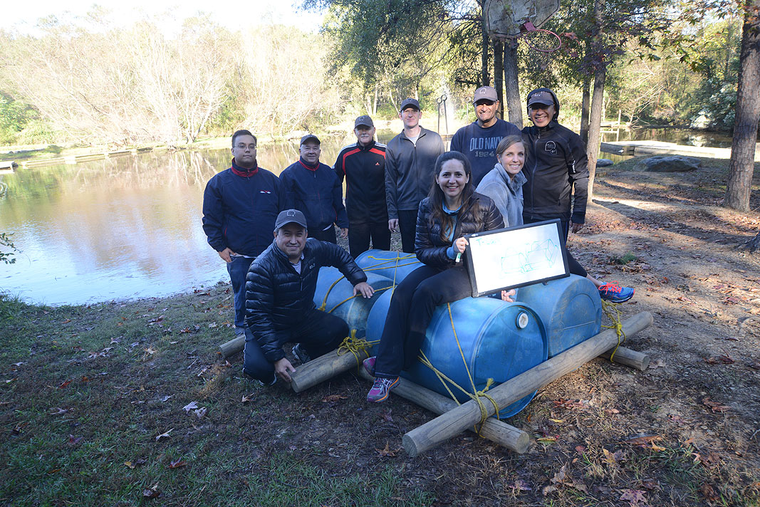 Petrotemex at Xtreeme Challenge Team Building Center in Monroe North Carolina