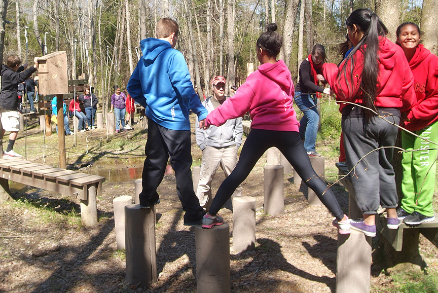 Boiling Springs 7th Grade Field Trip to Xtreeme Challenge