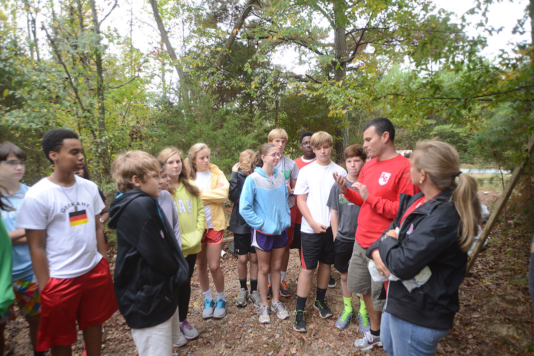 Alexander Graham Middle School Field Trip to Xtreeme Challenge in Monroe North Carolina