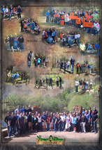Corporate outdoor adventure team building center Xtreeme Challenge