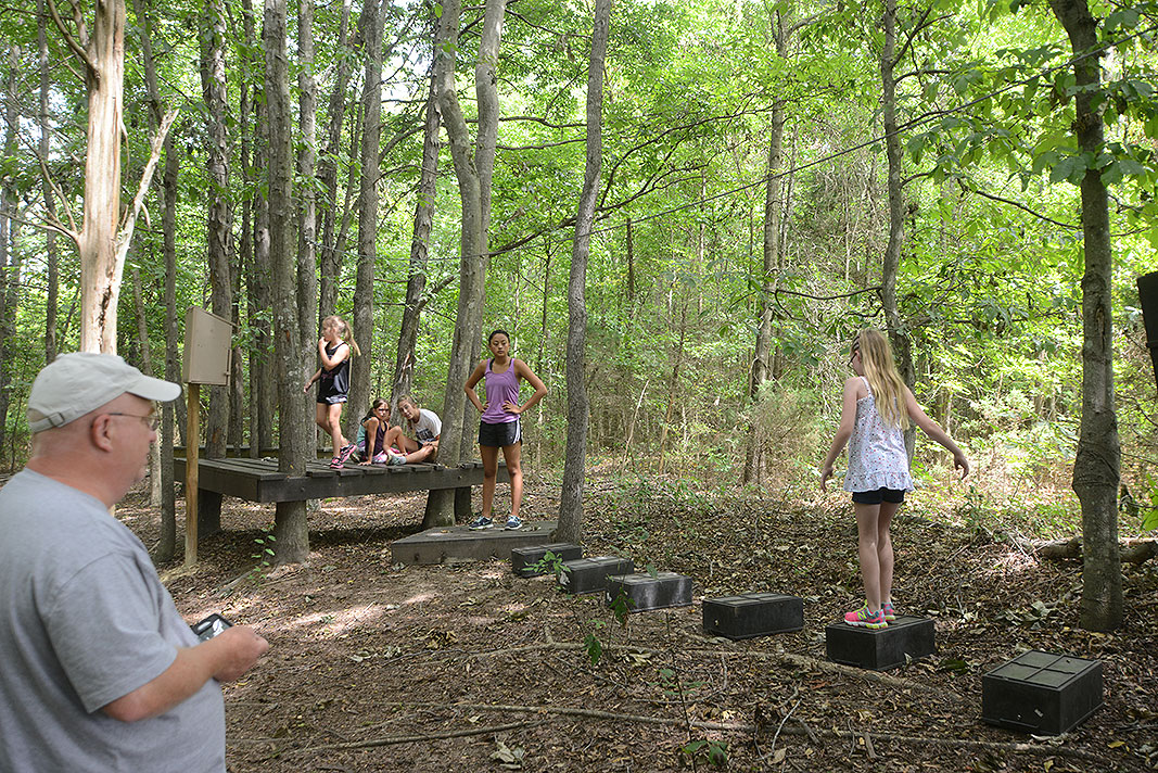 Calvary Lutheran Adventure Camp at Xtreeme Challenge Team Building Center
