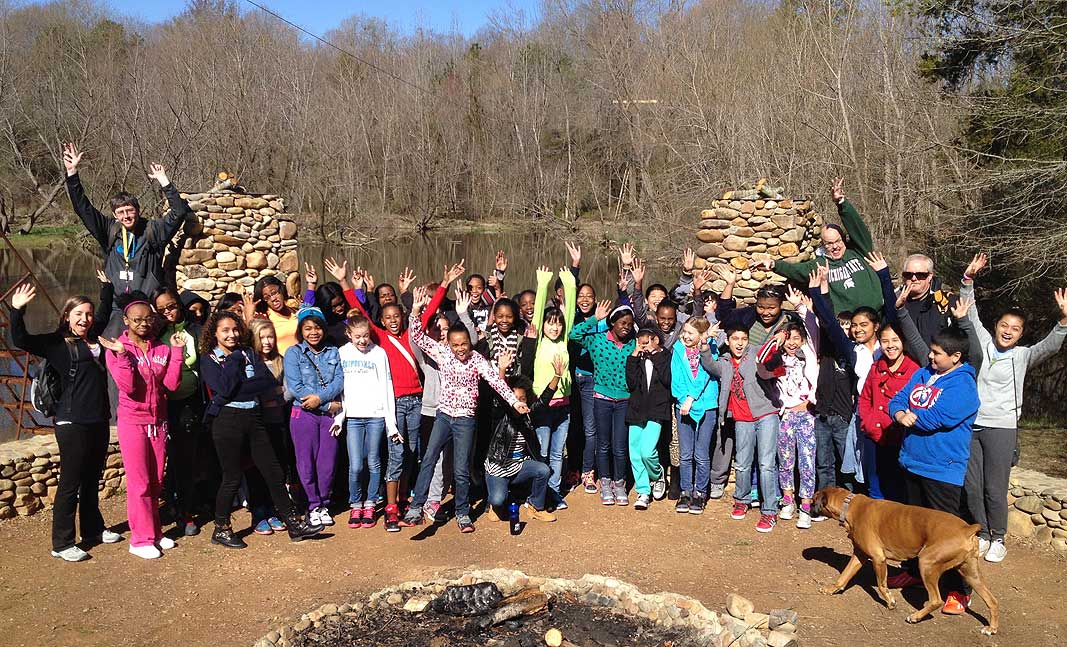 Live Like Luciano Grant for Coulwood Middle School at Xtreeme Challenge Educational Field Trip