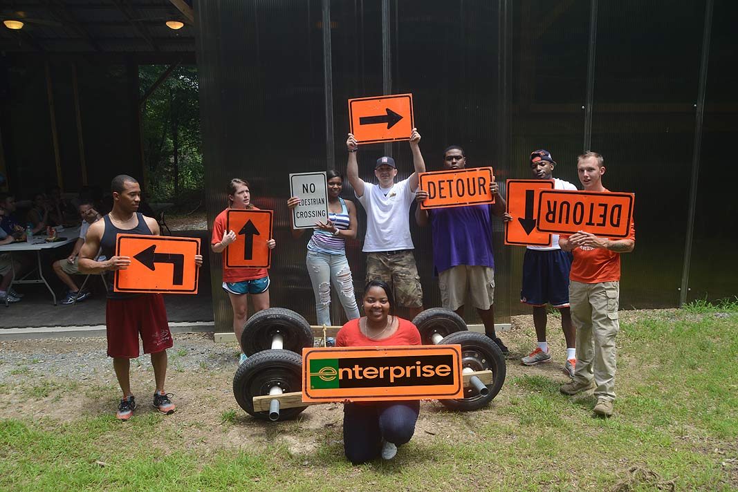 Xtreeme Challenge with Enterprise rent a car- Team Photo