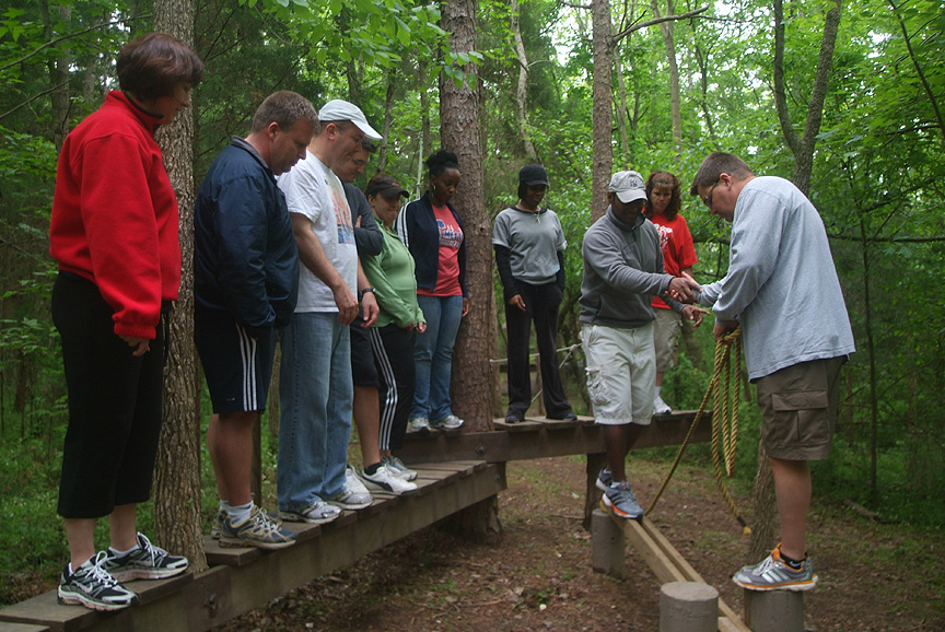 Team Building with Maersk at Xtreeme Challenge North Carolina