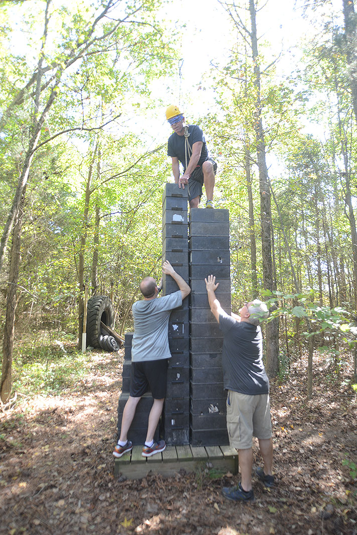Sanofi Urology Sales Team Builder atThe Xtreeme Challenge Off Site Facility in Charlotte North Carolina
