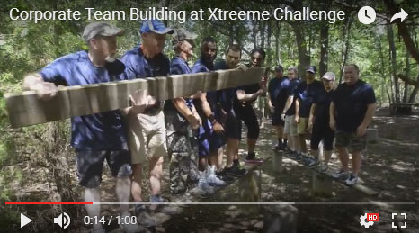 Team Building at Xtreeme Challenge One Minute Video