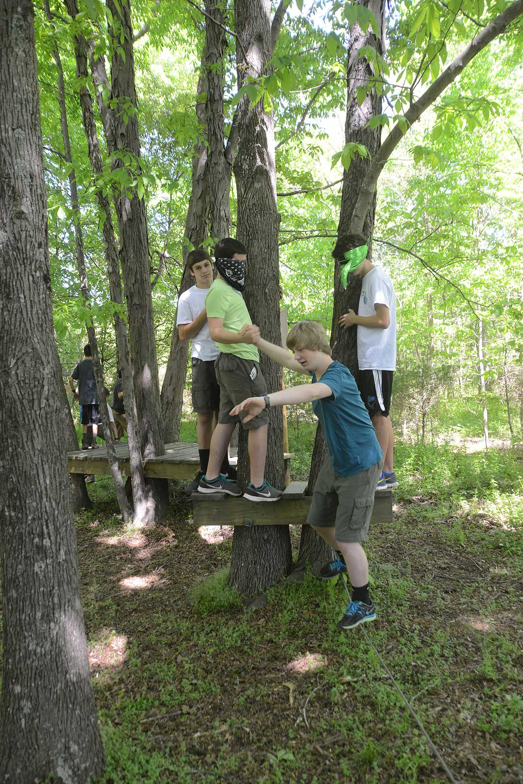 Boy Scout Troop 120 At Xtreeme Challenge