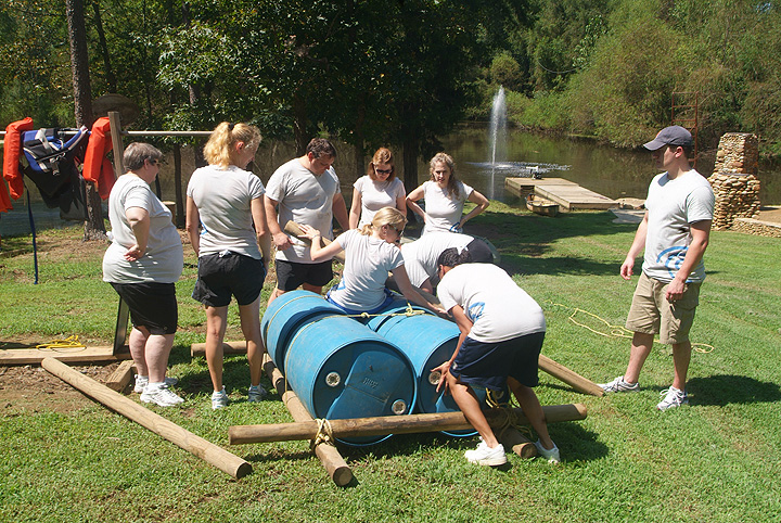 Time Warner Cable Team Building Event at Xtreeme Challenge