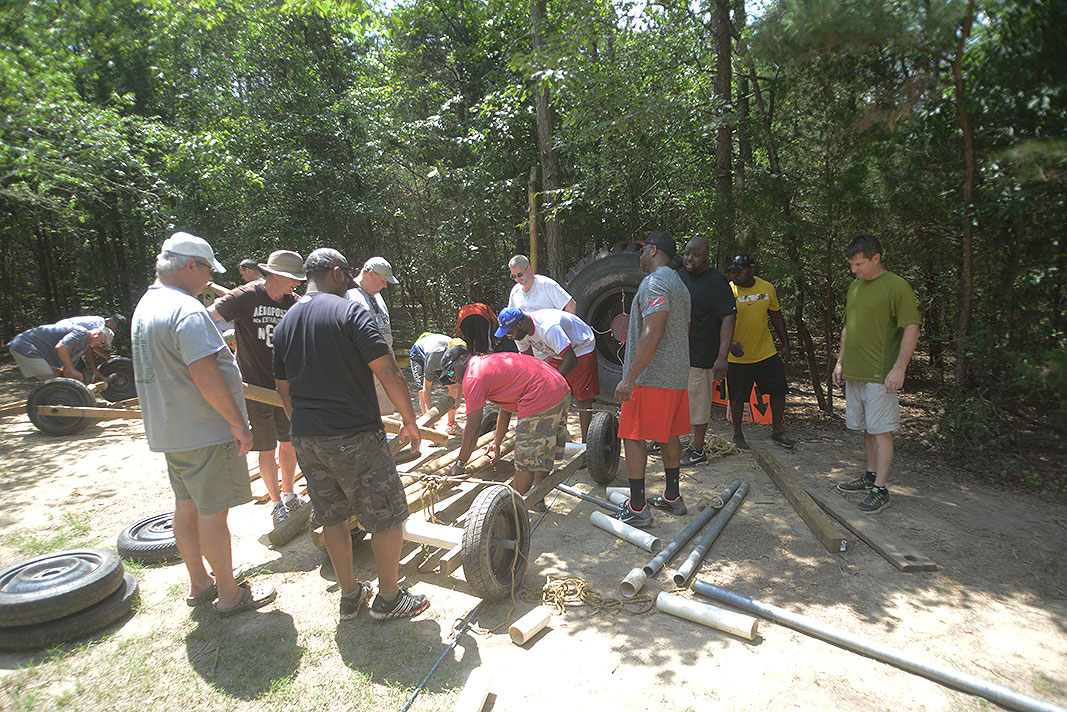 US7 Michelin Team Building at Xtreeme Challenge in Charlotte North Carolina