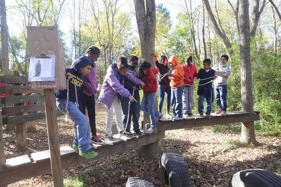 Wingate Elementary School 5th Grade Class Educational Field Trip at Xtreeme Challenge in Monroe North Carolina