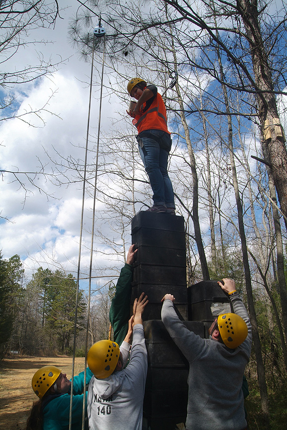 YMCA Camp Hanes Leadership at Xtreeme Challenge